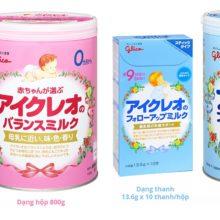 Glico – Thương hiệu sữa bột cho bé hàng đầu tại Nhật
