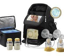 Đánh giá máy hút sữa Medela Pump In Style Advanced 2 bên.