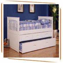 Tại sao nên chọn giường tầng bằng gỗ tự nhiện cho bé?