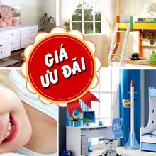 Giường tầng trẻ em món quà tuyệt vời cho bé