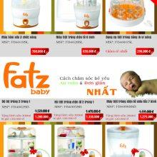 Máy tiệt trùng bình sữa cho bé loại nào tốt ?