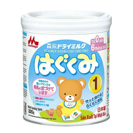 sữa Nhật cho bé