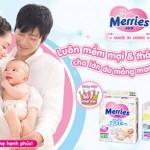 Bỉm Merries giúp bé an toàn và thoải mái hơn