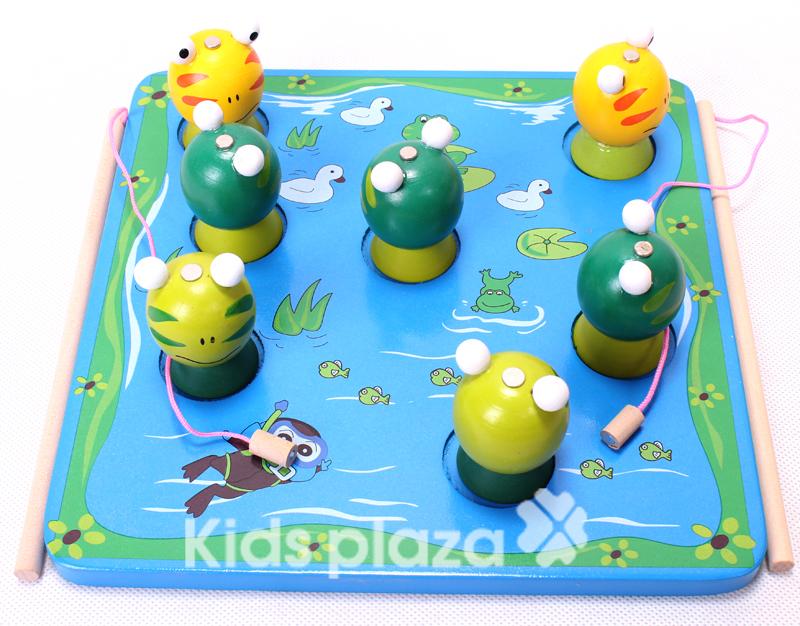 Đồ chơi gỗ giúp bé phát triển trí não một cách tối ưu