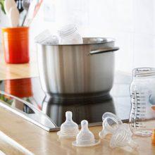 Mách mẹ cách tiệt trùng bình sữa Comotomo