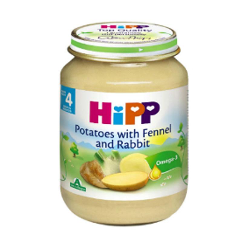 Hướng dẫn sử dụng đúng cách dinh dưỡng đóng lọ Hipp
