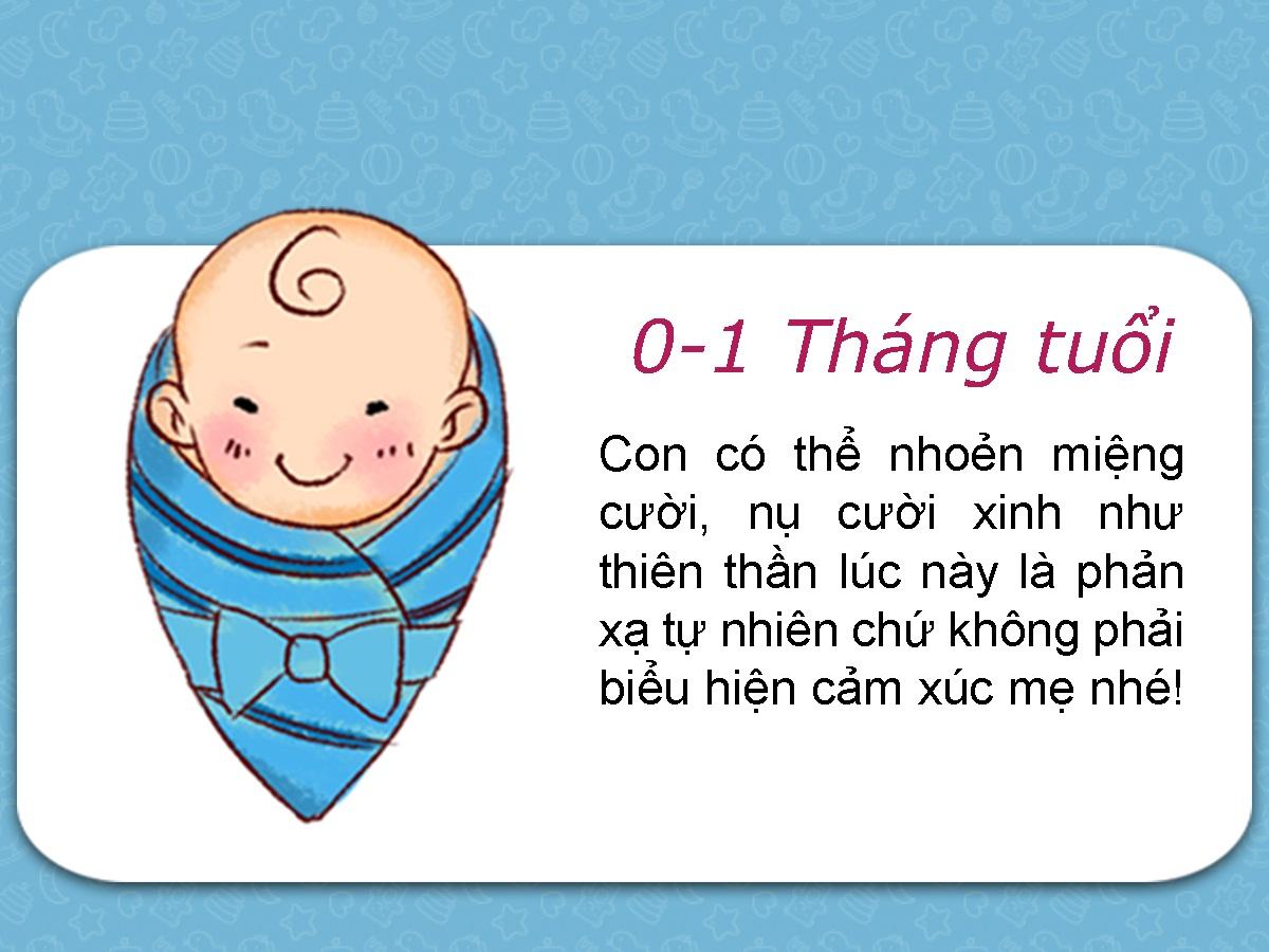 7 cột mốc phát triển quan trọng của trẻ 0-2 tuổi