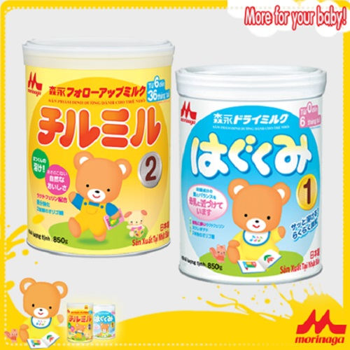 5 lợi thế khi dùng sữa Morinaga Nhật cho trẻ