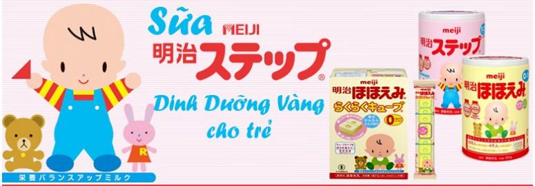 Dùng sữa Meiji Nhật cho trẻ - hại ít, lợi nhiều