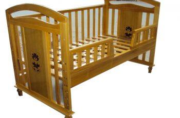 Giường cũi teddy sự lụa chọn hoàn hảo cho mẹ và bé