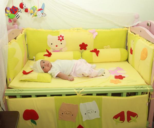 Mua giường cũi cho bé - có thực sự cần thiết ?