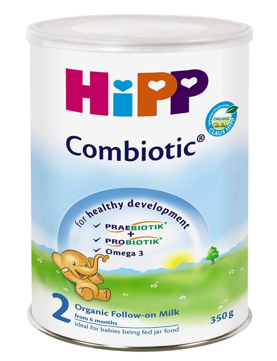 Hướng dẫn pha sữa bột cho bé HiPP 2 Combiotic Organic đúng cách