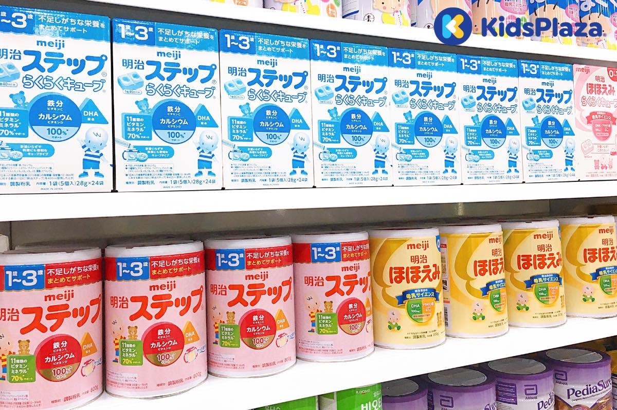 Giải đáp những thắc mắc thường gặp về sữa Meiji Nhật