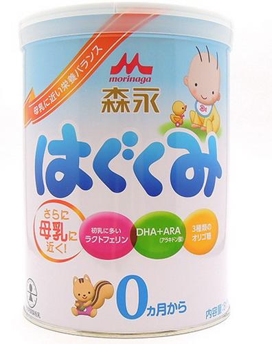Hướng dẫn cụ thể cách pha sữa Morinaga số 0 nội địa