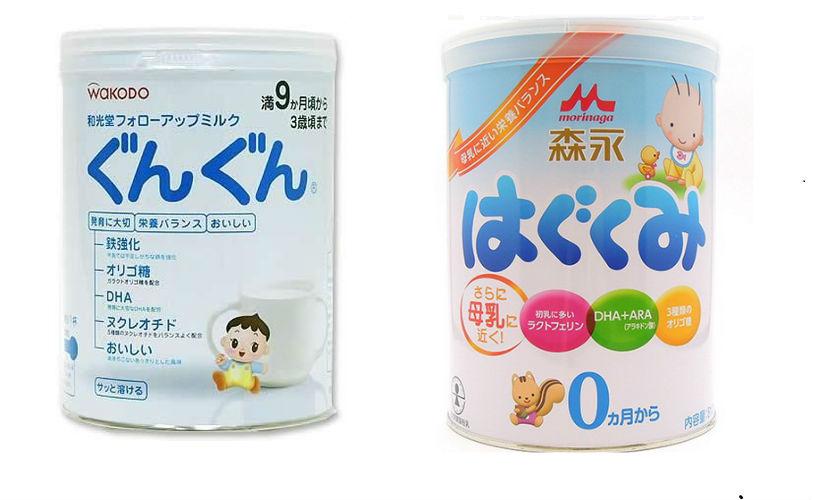 Nên chọn sữa Morinaga hay sữa Wakodo cho trẻ sơ sinh?