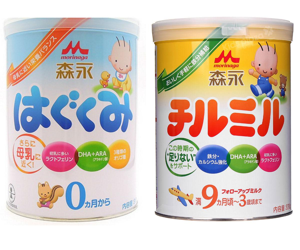 Sữa Morinaga của Nhật có tăng cân, tăng chiều cao không?