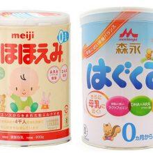 Sữa Meiji và Morinaga - sữa nào tốt hơn?