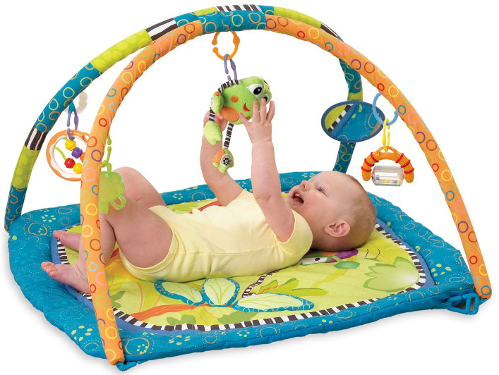 """Mách mẹ chọn đồ chơi """"chuẩn"""" cho bé sơ sinh"""