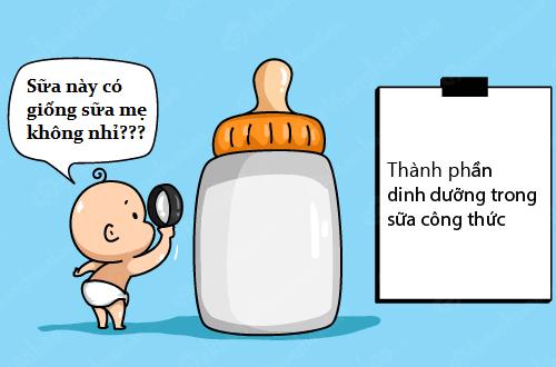 Sữa bột cho bé loại nào giống sữa mẹ nhất?