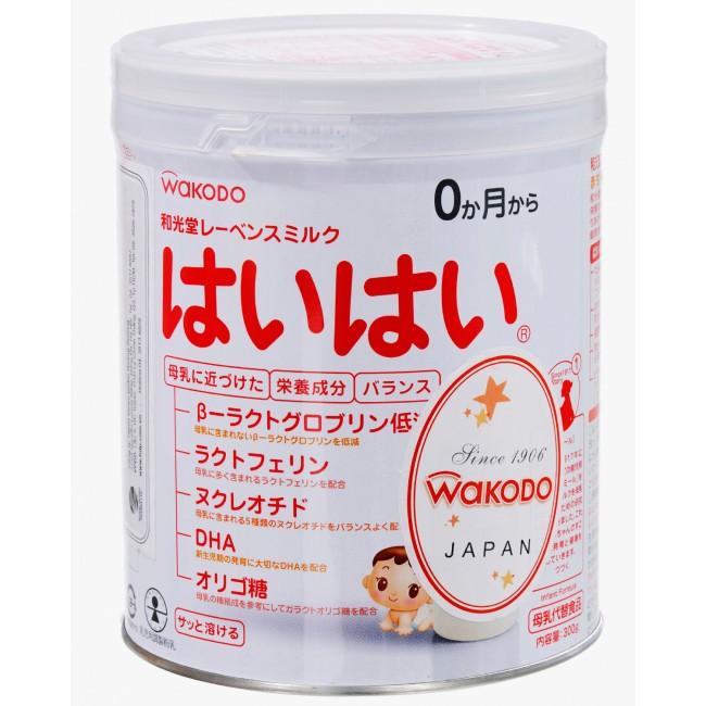Cách pha sữa Wakodo số 0 cho bé 0-12 tháng tuổi đúng chuẩn
