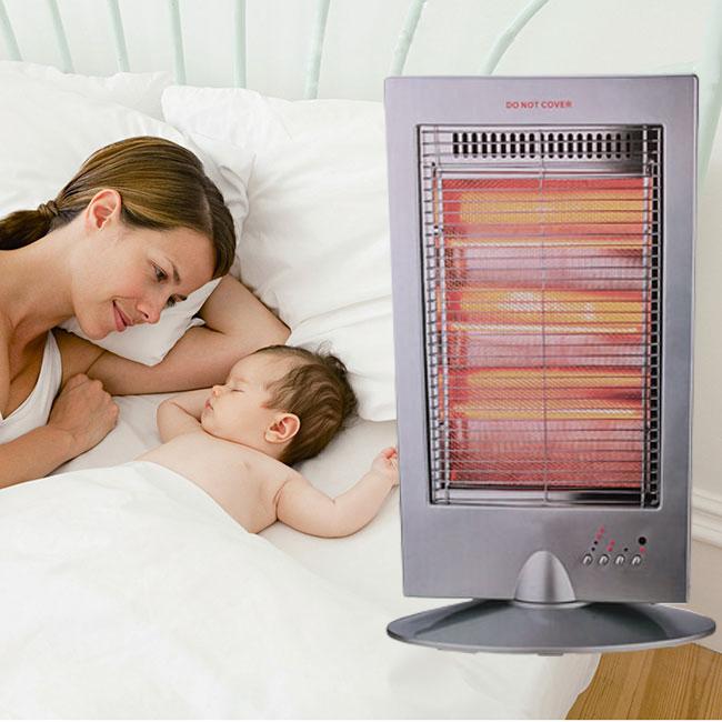 Những lưu ý khi sử dụng quạt sưởi cho trẻ sơ sinh
