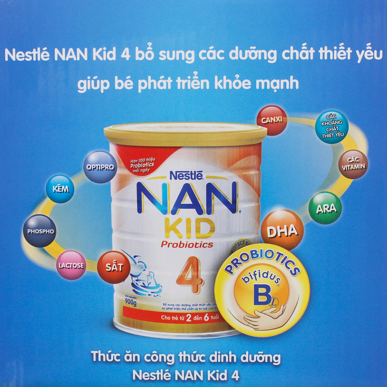 Thành phần dinh dưỡngsữa Nestlé NAN Kid 4