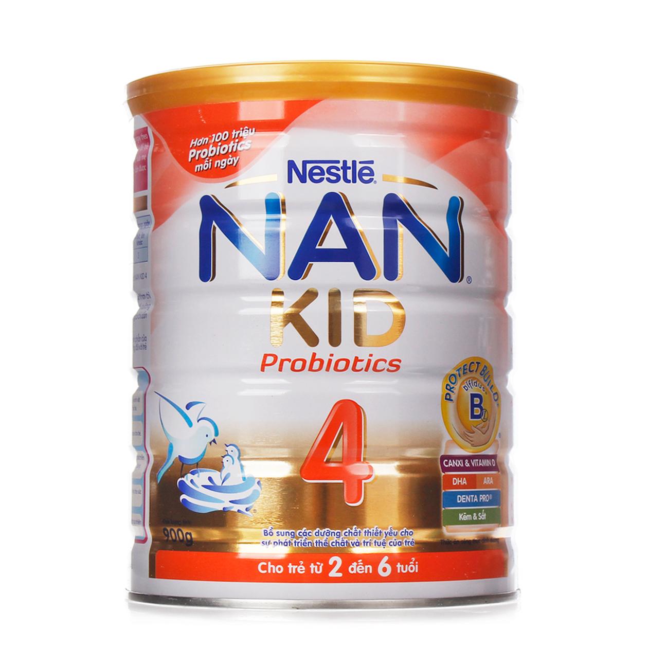Sữa Nestlé NAN Kid 4 900g