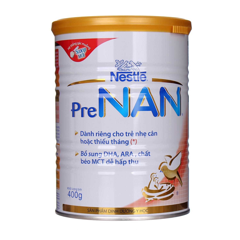 Sữa Pre Nan 400g cho trẻ nhẹ cân hoặc thiếu tháng