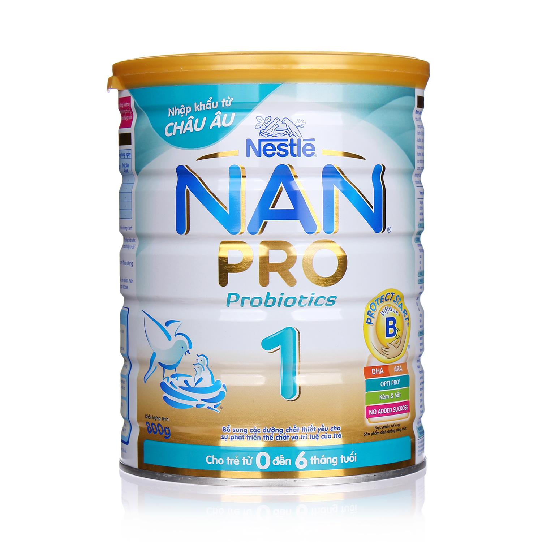 Sữa Nan Nestle Pro số 1 800g