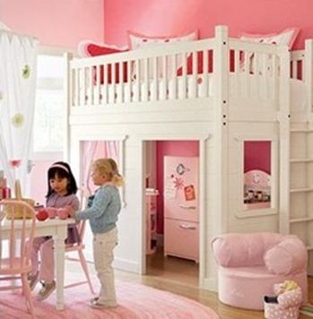 giường tầng cho các bé có thêm không gian vui chơi