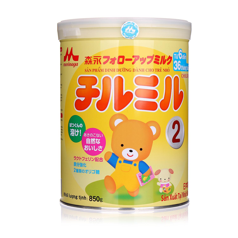 Sữa bột Morinaga số 2 (850gr) có tốt cho trẻ 6 tháng tuổi không?