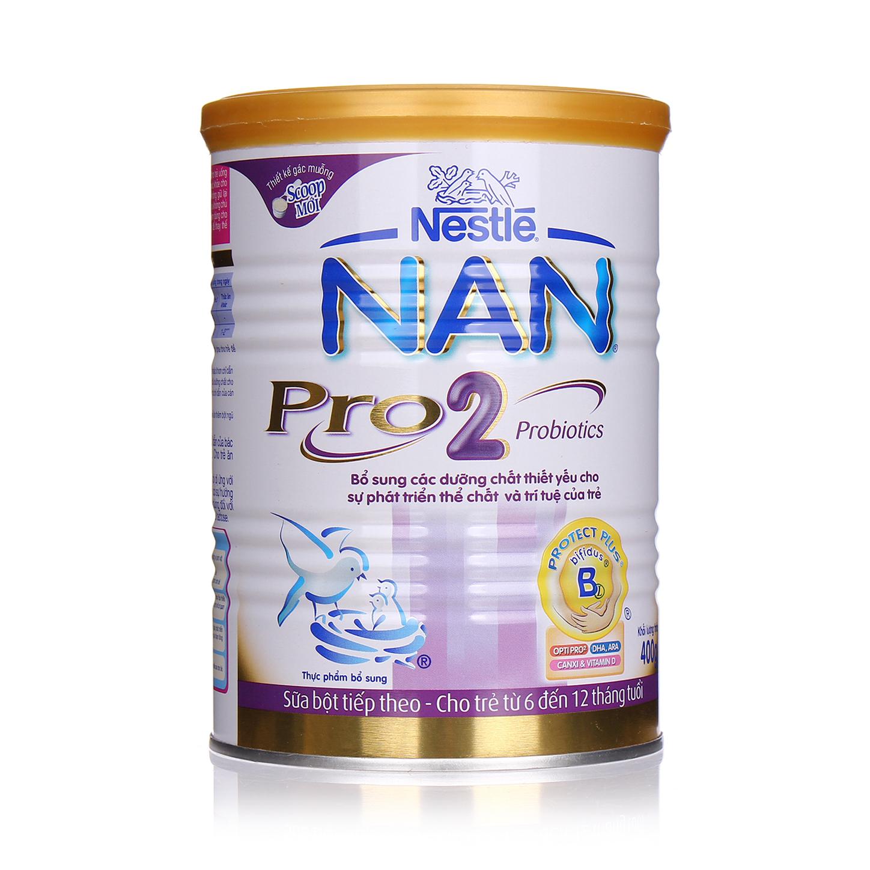 Sữa Nan Nestle Pro 2 400g (6-12m)
