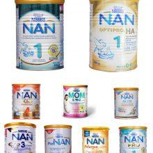 """Sữa Nan có """"tất tần tật"""" bao nhiêu loại?"""
