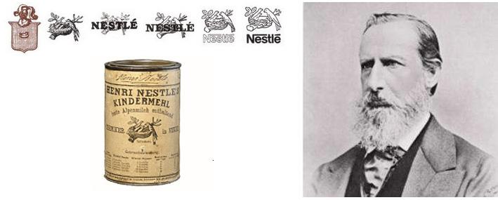 Ông Henri Nestle - người thành lập công ty Nestle