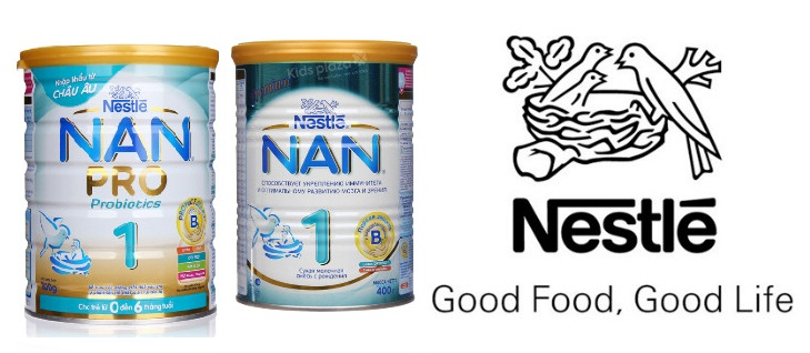 Sữa Nan Nestle - Good Food, Good Life