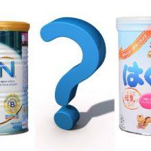 So sánh sữa Morinaga Nhật và sữa Nan Nga