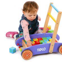 Kinh nghiệm sử dụng xe tập đi bằng gỗ cho bé