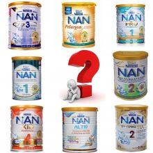 Sữa Nan nào tốt nhất cho bé?