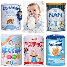 TOP 5 loại sữa tốt nhất và mát nhất cho trẻ hiện nay