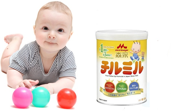 Sữa Morinaga Nhật số 9 cho trẻ 1-3 tuổi