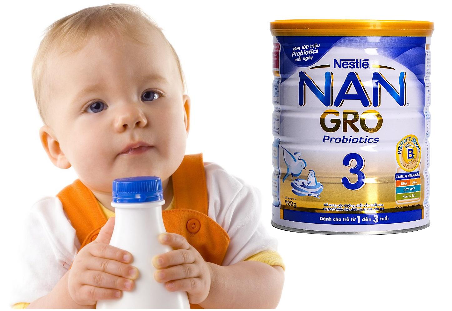 Sữa Nan Gro 3 900g của Nestle Philippin