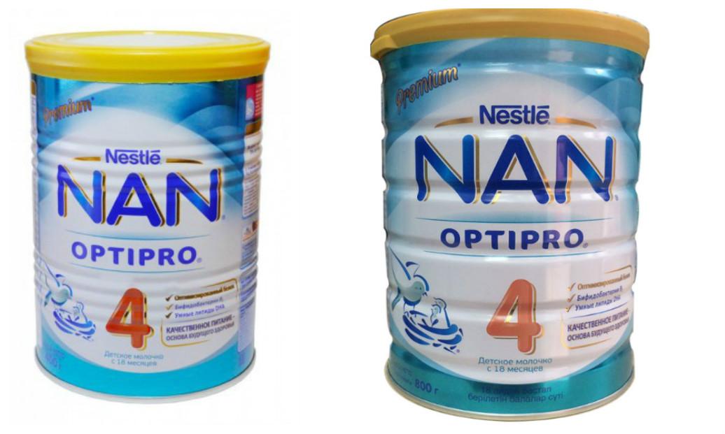 Các loại sữa Nan Nga Optipo số 4 400g và 800g