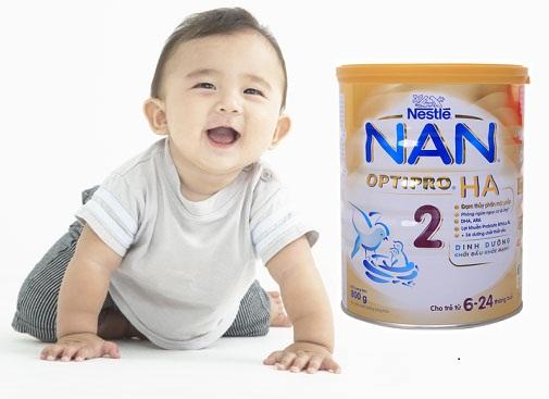 Sữa Nan HA số 2 chống dị ứng cho trẻ 6-24 tháng tuổi