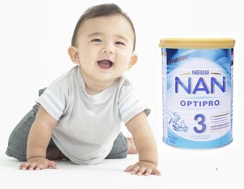 Sữa Nan Nga số 3 giúp trẻ tăng cân khỏe mạnh