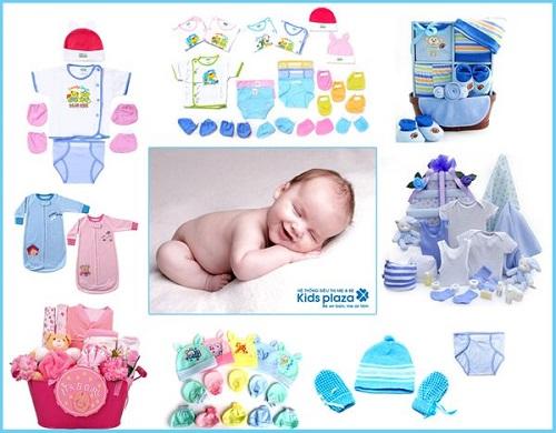 Danh sách đồ sơ sinh cần thiết cho bé