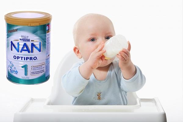 Sữa Nan cho trẻ sơ sinh - Sữa Nan Nga số 1