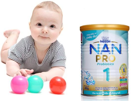 Sữa Nan cho trẻ sơ sinh - Sữa Nan Pro số 1