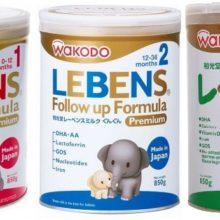 5 ưu điểm nổi bật của sữa Wakodo Lebens Nhật