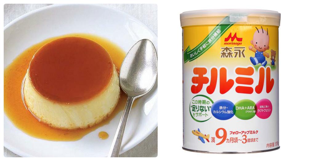 Cách làm bánh Flan (kem Caramel) cho bé trên 6 tháng ăn dặm bằng sữa Morinaga của Nhật