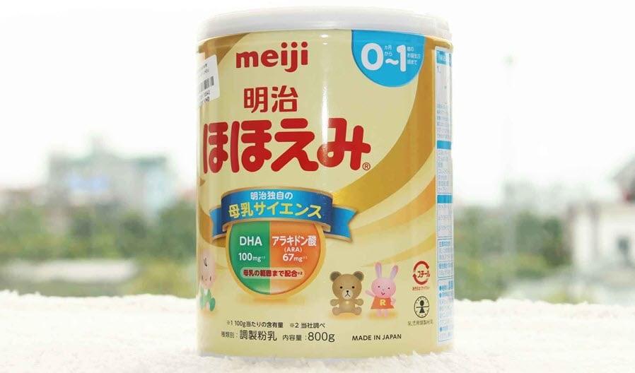 Sữa Meiji Nhật có tất cả bao nhiêu loại? Ưu điểm của từng loại là gì?